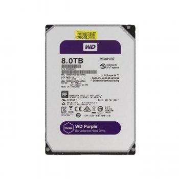 Винчестер Western Digital WD81PURZ 8TB SATA III 256 MB 5400rpm 3.5 WD81PURZ (173379)
