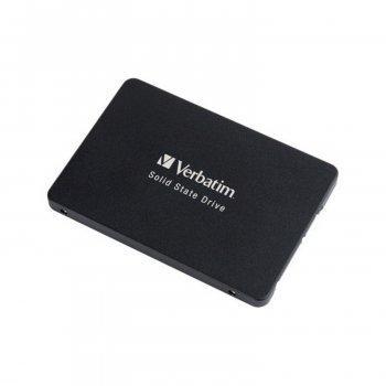 """Винчестер Verbatim Vi500 120 Gb 70022 SSD SATA III 2.5"""" 7 mm 3D TLC 480/375 MBs (188175)"""