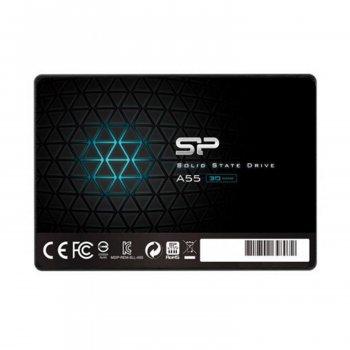 """Винчестер Silicon Power SP128GBSS3A55S25 128 Gb 2.5"""" SSD SATA III A55 RW Up To 560 530 MBs (164848)"""