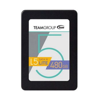 "Винчестер Team T2535T480G0C101 480 Gb SSD SATA III 2.5"" L5 Lite (164116)"