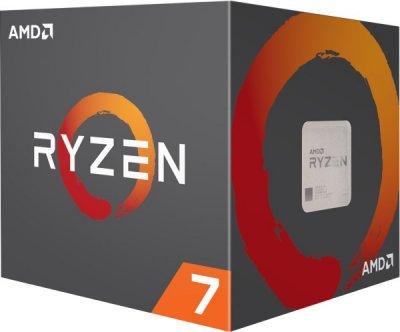 Процесор CPU AMD 8C/16T Ryzen 7 2700X 3,7 GHz-4,35 GHz(Turbo)/16MB/95W YD270XBGAFBOX) sAM4 BOX