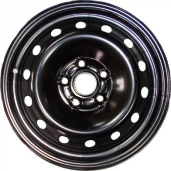 Kapitan Citroen / Fiat / Peugeot R16 W6.5 PCD5x108 ET42 DIA65.1 Black semi-Matt