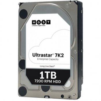 Накопичувач HDD SATA 1.0 TB Hitachi (HGST) Ultrastar 7K2 7200rpm 128MB (HUS722T1TALA604/1W10001)