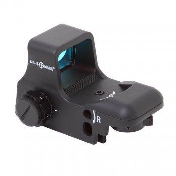 Коліматорний приціл Sightmark Ultra Shot Reflex Sight SM13005-DT (стаціонарний) для великих калібрів c посадкою 11мм