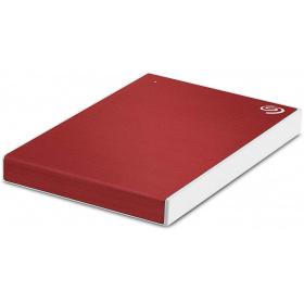 """Накопичувач зовнішній HDD 2.5"""" USB 2.0 TB Seagate Backup Plus Slim Red (STHN2000403)"""