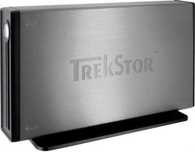 "Накопитель внешний HDD 3.5"" USB 500GB TrekStor DataStation maxi m.ub Grey (TS35-500MMUGR) - Refubrished"