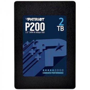 """Накопитель SSD 2ТB Patriot P200 2.5"""" SATAIII TLC (P200S2TB25)"""