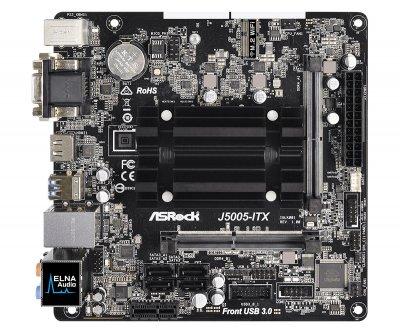 Материнська плата ASRock J5005-ITX Mini ITX