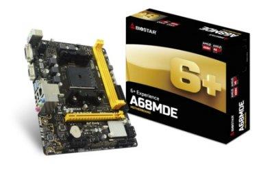 Материнська плата Biostar A68MDE Socket FM2+