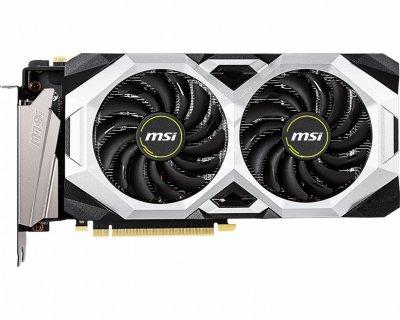 Відеокарта GF RTX 2070 Super 8GB GDDR6 Ventus MSI OC (GeForce RTX 2070 Super Ventus OC)