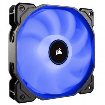 Вентилятор Corsair AF120 LED (2018) Blue (CO-9050081-WW), 120х120х25мм, 3-pin, чорний