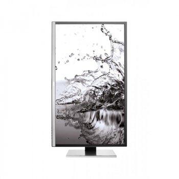 """Монітор AOC 31.5"""" U3277PWQU MVA Black/Silver; 3840x2160, 300 кд/м2, 4 мс, DisplayPort, HDMI, DVI-D, D-Sub, 2хUSB3.0, 2хUSB2.0 динаміки 2х3 Вт"""