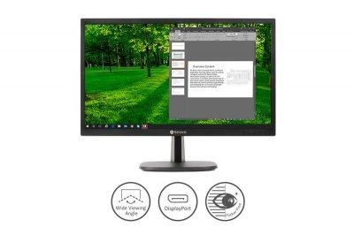"""Монітор Neovo 23.8"""" LA-24 IPS Black; 1920x1080, 5 мс, 270 кд/м2, D-Sub, HDMI, DisplayPort, динаміки 2х2 Вт"""