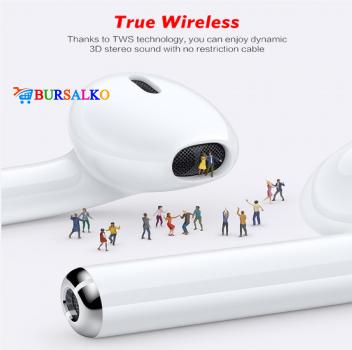Навушники TWS i9s бездротові блютуз Double V 5.0 EDR Bluetooth Pop-up NEW Stereo Plus кейс з силіконовим чохлом (0051BS)
