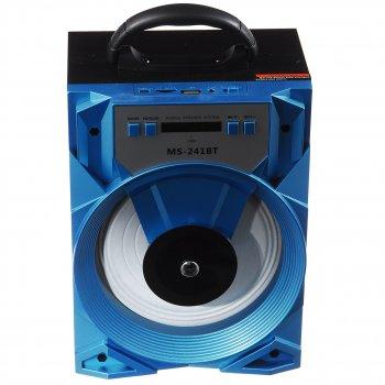 Акустическая система Speaker (MS-241 Bт) Голубой