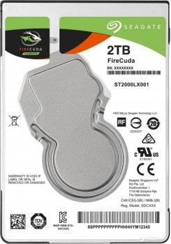 "Жорсткий диск Seagate FireCuda SSHD 2TB 5400rpm 128MB 2.5"" SATAIII (ST2000LX001)"