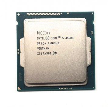 Процессор Intel Core i5-4590S (S1150/4x3.0GHz/5GT/s/6MB/65Вт/BX80646I54590S) Б/У