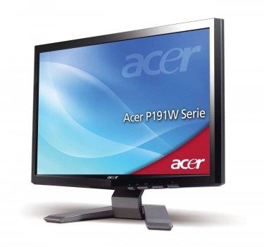 """Монітор 19"""" CCLF TN, Acer P191W, 1440x900 (16:10), 5мс, VGA (P191W) Б/У"""