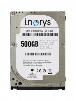 Жесткий диcк i.norys для ноутбука 2.5 500 GB (A52026)