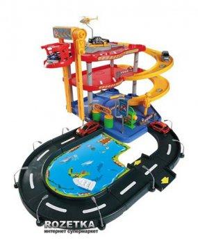 Игровой набор Гараж Bburago (1:43) 3 уровня, 2 машинки (18-30025)