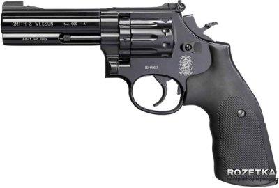 "Пневматичний пістолет Umarex Smith&Wesson Mod. 586, 4"" (448.00.04)"