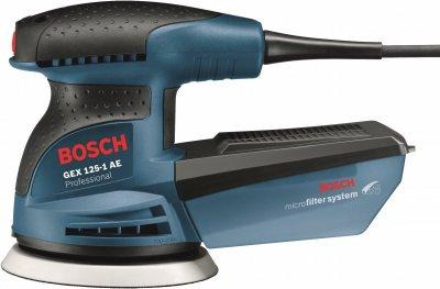 Эксцентриковая шлифмашина Bosch Professional GEX 125-1 AE