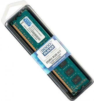 Оперативна пам'ять Goodram DDR3-1333 8192MB PC3-10600 (GR1333D364L9/8G)