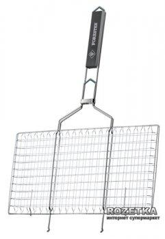 Решетка - гриль Forester для стейков большая 22х42 см (BQ-S02)