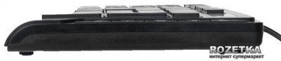 Клавіатура дротова A4Tech KD-600 USB (4711421881357)