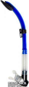 Трубка для дайвинга Bare Semi Dry Top Blue (037901BLU)