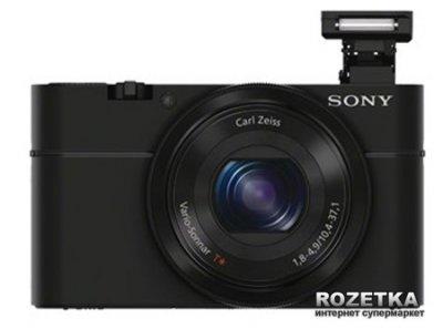 Фотоапарат Sony Cyber-Shot DSC-RX100 Black (DSCRX100.CEE2)