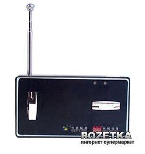 Джип мікро на р/у Great Wall Toys GWT 2207 1:58 Чорний 35 МГц (GWT2207-3) (2711195574754)