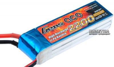 Gens Ace Li-Po 11.1V 2200 mAh 3S1P 30C (B-30C-2200-3S1P)