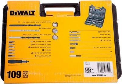 Набір інструментів DeWalt 109 предметів (DT0109)