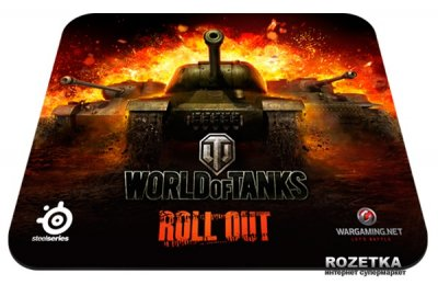 Игровая поверхность SteelSeries QcK World of Tanks Speed (SS67269)