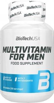 Вітаміни Biotech Multivitamin for Men 60 таблеток (5999076228508)