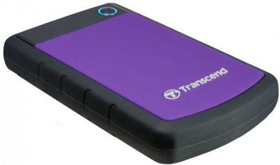 Жорсткий диск Transcend StoreJet 25H3P 2TB TS2TSJ25H3P 2.5 USB 3.0 External