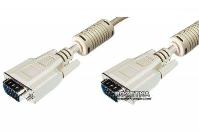 Кабель Digitus VGA (HDDB15M/M) 10 м White (AK-310103-100-E)