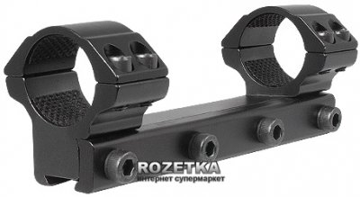 """Кріплення (моноблок) для прицілу Hawke Matchmount 9-11 mm 1"""" Med (920806)"""