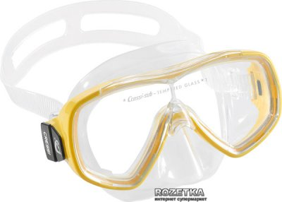 Маска Cressi-Sub Ondina Transperent/Yellow (DN206910)