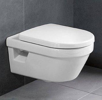 Унітаз підвісний VILLEROY&BOCH Omnia Architectura 5684H101 з сидінням Soft Close 98M9C101