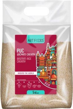 Рис Art Foods Басмати Creamy пропаренный 1121 5 кг (4820191592643)