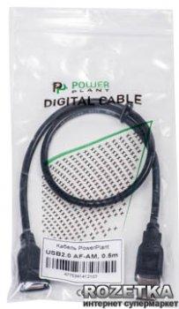 Кабель PowerPlant USB 2.0 AF - AM 0.5 м (KD00AS1210)