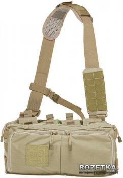 Сумка тактическая для скрытого ношения оружия 5.11 Tactical 4-Banger Bag 56181 Sandstone (2000980330409)