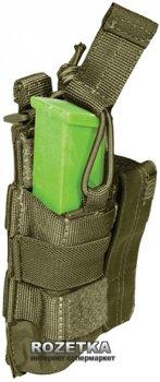 Подсумок тактический для двух пистолетных магазинов 5.11 Tactical Double Pistol Bungee/Cover 56155 Tac OD (2000980325771)