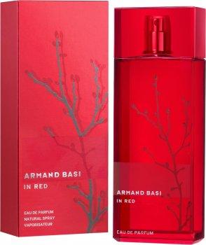 Парфюмированная вода для женщин Armand Basi In Red 100 мл (8427395940285)