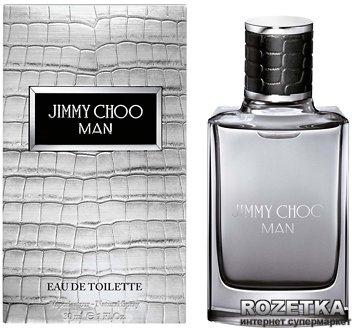 Туалетная вода для мужчин Jimmy Choo Man Eau de Toilette 30 мл (3386460064132)