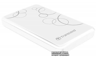Жорсткий диск Transcend StoreJet 25A3 2TB TS2TSJ25A3W 2.5 USB 3.0 External White