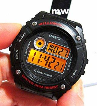 Чоловічий годинник CASIO W-216H-1AVEF
