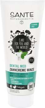 Зубная БИО-паста без фтора Sante Травяная Мята 75 мл (4025089073765)